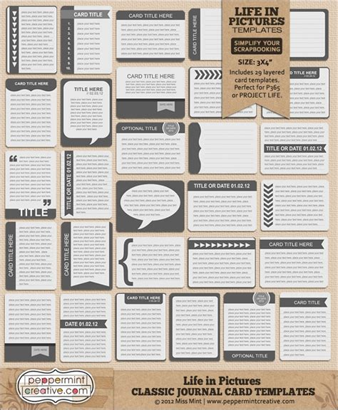 25 best ideas about journal cards on pinterest project