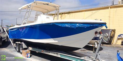 vinyl wrap on boat vinyl boat decal vehicle wraps daytona 386 256 0998