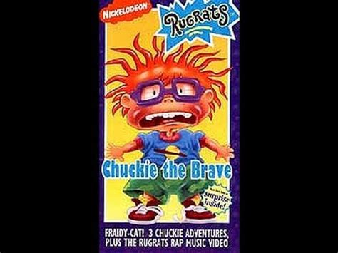 opening previews to rugrats chuckie the brave 1994 vhs