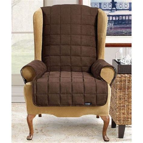 small recliner slipcovers surefit recliner slipcover ebay