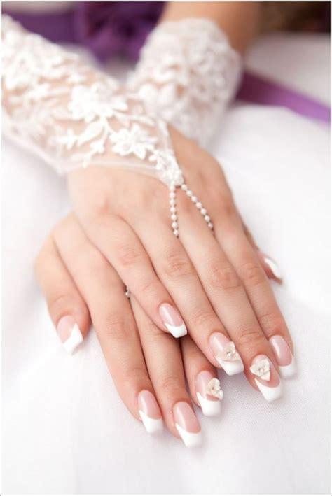 classy wedding nail art designs  modish