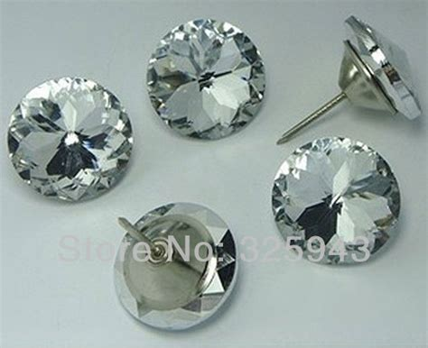 decorative upholstery buttons 2pcs 30mm home crystal upholstery sofa headboard