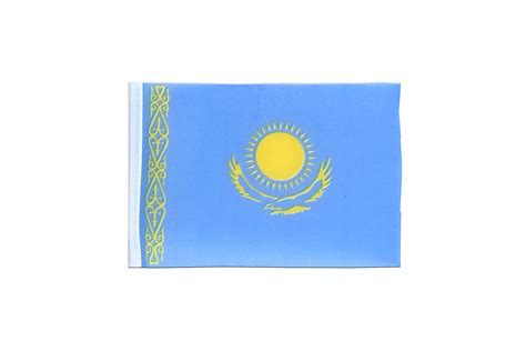 flags of the world kazakhstan mini kazakhstan flag 4x6 quot royal flags