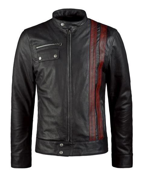 and black motorcycle jacket black motorcycle jacket with stripes soul revolver