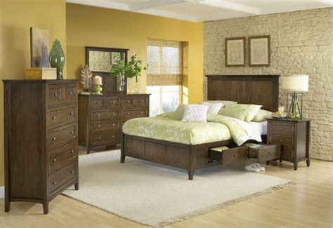 4 Piece Modus Paragon Solid Wood Storage Bedroom Set Modus Bedroom Furniture