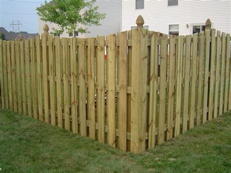 wood privacy fence pictures and ideas