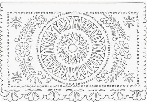 papel picado template for kids world and papel picado on