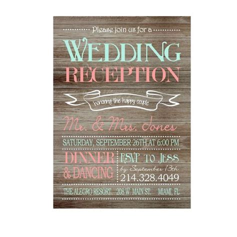 17 Best ideas about Reception Only Invitations on