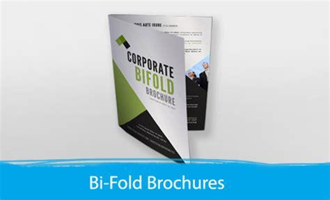 Bi Fold Brochure Paper - bi folded brochure print depot