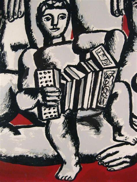 les trois soeurs french b007pzqksy igavel auctions fernand leger french 1881 1955 quot les trois soeurs et enfant au l accordeon