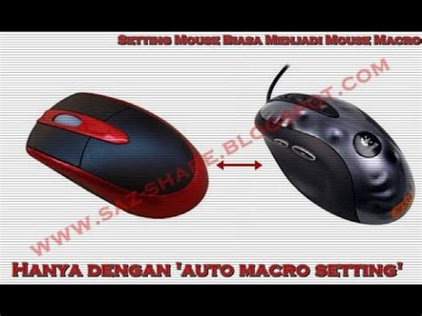 Mouse Macro Pb Garena cara setting mouse biasa jadi macro awp sg pb garena 2016