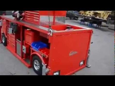 ultimate toolbox with a 48 volts motor moving this rig armed with everything you could