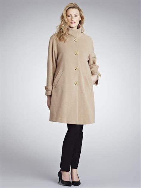 John Lewis Women Jane Swing Coat Camel In Beige Camel Lyst