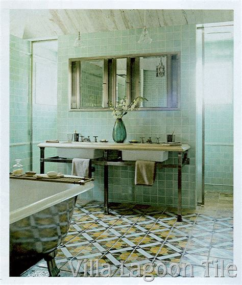 Antique Bathroom Tile by Antique Cement Tiles And Photo Tours Villa Lagoon Tile