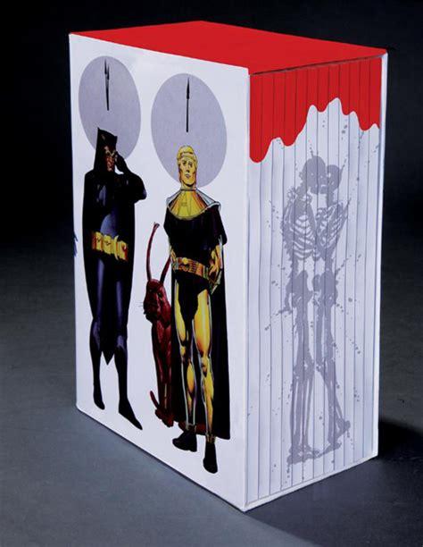 watchmen collectors edition box 1401270344 dc comics unveils the watchmen collector s edition box set previews world