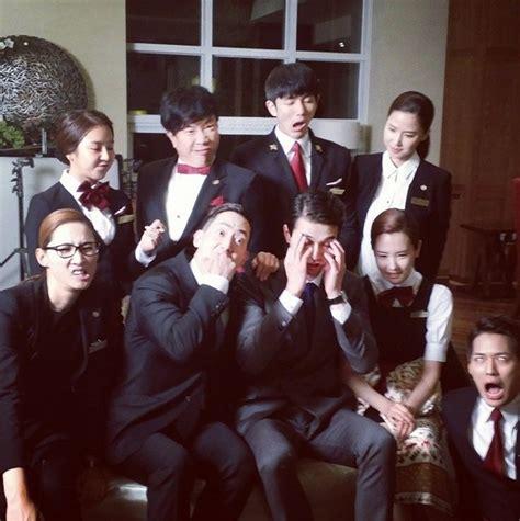 film drama korea hotel king cast of hotel king share behind the scenes photos koogle tv