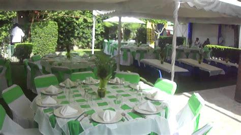 rancho en renta para fiestas 15 a os y bodas salon banquete 15 a 209 os con manteleria domino youtube