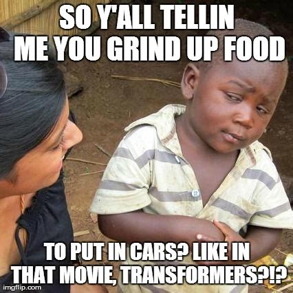 Grinding Meme - third world skeptical kid meme imgflip