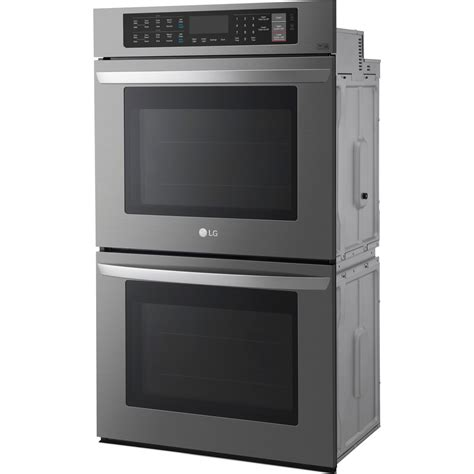 lg 30 wall oven lwd3081 house appliances home kitchen for lwd3063bd lg 30 quot double wall oven