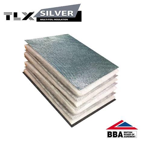 tlx silver thinsulex multifoil insulation 1 2m x 10m