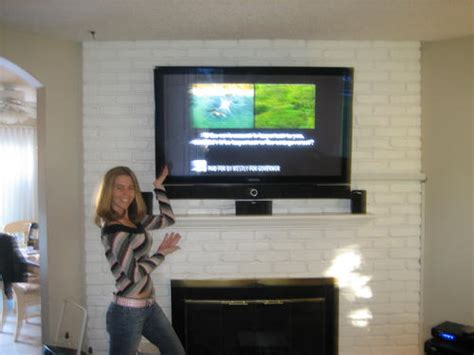 Flat Screen Tv Installation Fireplace by Home Theater Installation Houston Tv Installation Flat