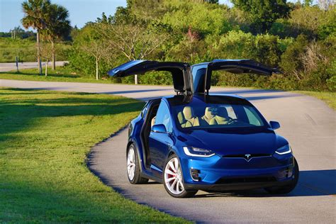 suv tesla blue 2016 tesla model x p90d blue metallic picture gallery