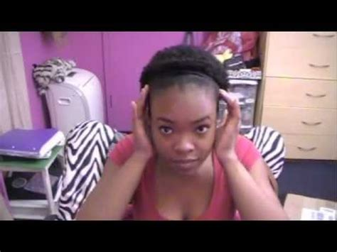 natural hair   style  twa   afro puff youtube