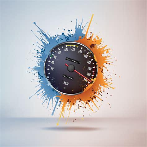 wallpaper bergerak speedometer speedometer design element vector free vector in