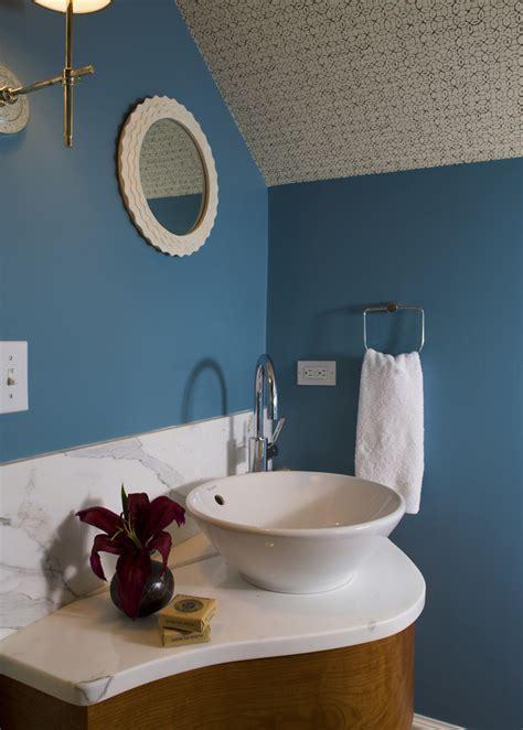 Bathroom Vanities Small Powder Room by Small Powder Room Vanities Bathroom With Blue Blue