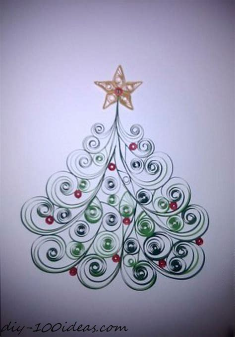 images christmas quilling quilling christmas card diy 100 ideas