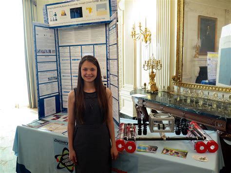 White House Science Fair by Florida High Schooler Makes Waves At White House Science