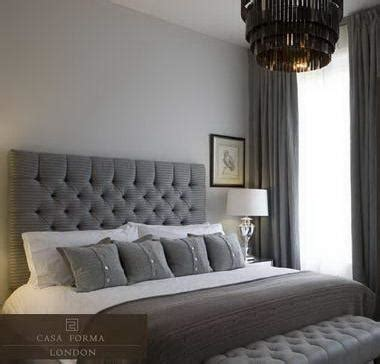 grey headboard bedroom ideas diamond tufted headboard