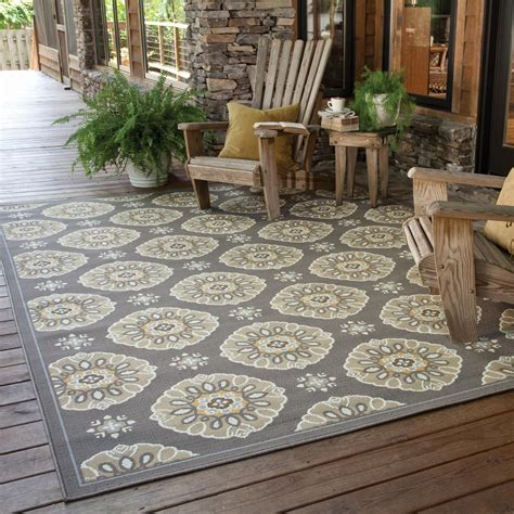 Oriental Weavers Bali 7 10 X 10 10 Indoor Outdoor Rug Outdoor Deck Rugs