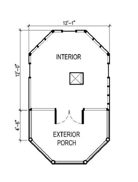 tree house floor plans lookout tree house 9605 the house designers