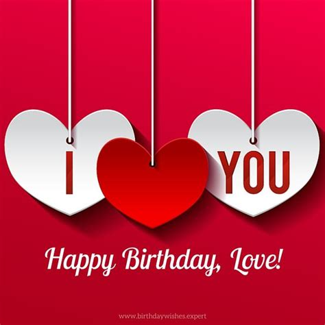 happy birthday lover my most precious feelings unique wishes for my lover