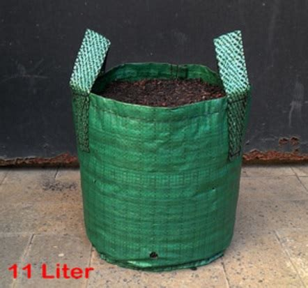 Planterbag 11 Liter Hijau No Handle Planter Bag Hijau 11 Liter Jual Tanaman Hias