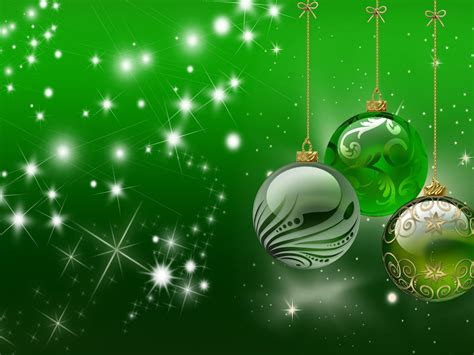 background christmas happy holidays decorative ornaments green wallpaper hd