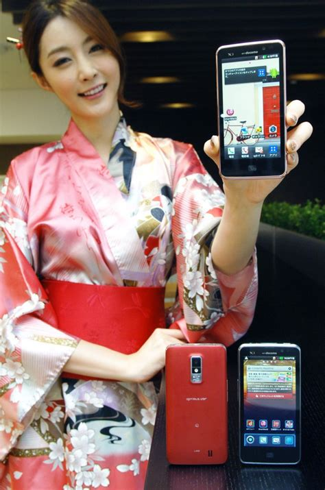 japanese android lg s optimus lte android phone goes on sale in japan techcrunch