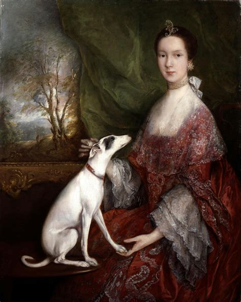 the dog house gainsborough portrait of elizabeth jackson 1760 thomas gainsborough 1727 1788 1760