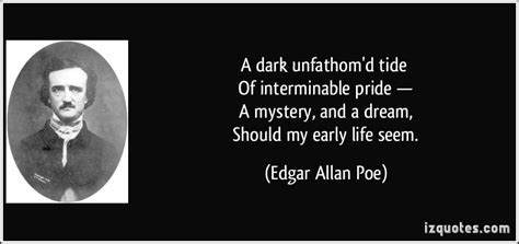 mysterious death of edgar allan poe biography love is a mystery quotes