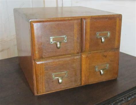 wooden card file cabinet golden oak 4 card index filing cabinet antiques