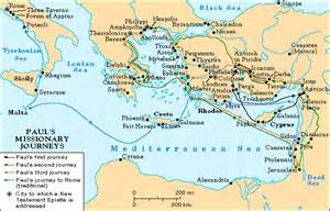 Pauls Journeys Outline by Bible Survey
