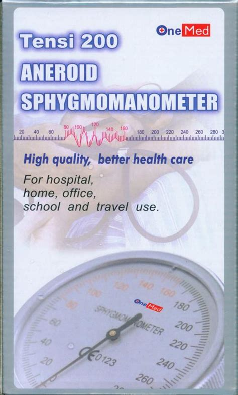 Tensimeter Merk Onemed jual alat kesehatan pramukaalkesshop