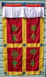 tibetan door curtain tibetan door curtain buddhist door curtains 8