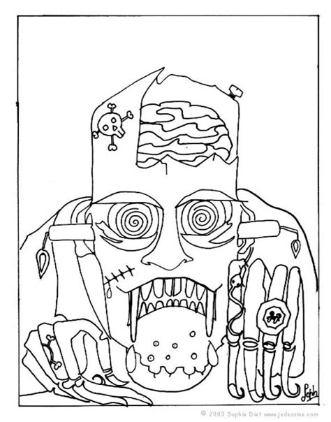 dibujos para colorear de halloween calabazas mascaras carnaval ninos dibujos para colorear la m 225 scara de frankenstein es