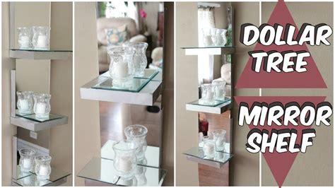 diy home decor ideas 2018 dollar tree diy mirror decor dollar tree mirror shelf d i y tutorial youtube diy home