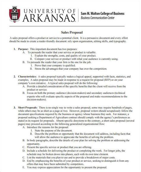 7 sales proposal sles templates pdf doc