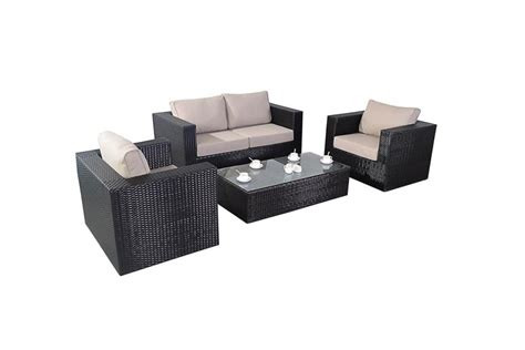 rattan sofa sets garden furniture ella rattan sofa set all weather rattan garden furniture