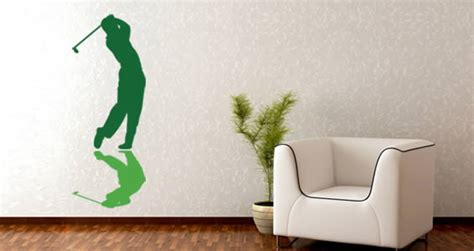 golf wall stickers golfer wall decals dezign with a z