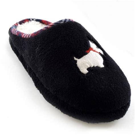 dog house slippers womens ladies west highland terrier dog mule indoor house slippers scuffs ebay